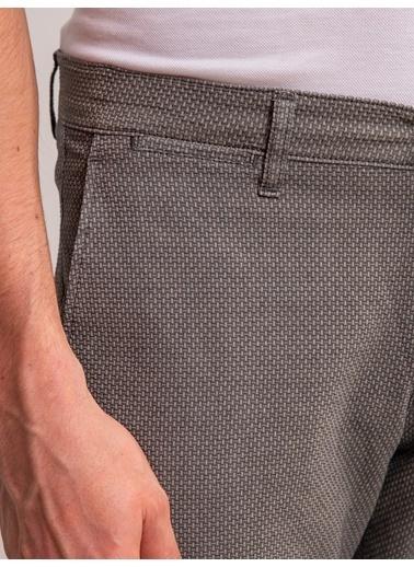 Dufy Taş Armür Pamuk Lıkra Karışımlı Erkek Pantolon - Regular Fıt Taş